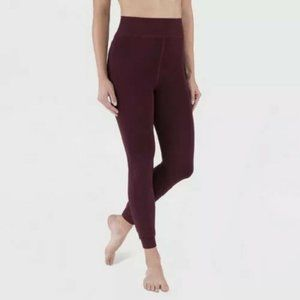 Wander by Hottotties Velvet Lined Leggings Small